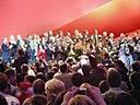 Zum Abschluss eines erfolgreichen Wahlkampfauftaktes - Hannelore Kraft und Team
