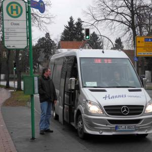Klaus Tönshoff stellt fest: Auf der Linie 72 sind noch Plätze frei