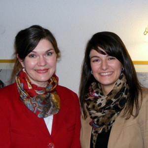 Sabine Amsbeck-Dopheide und Elvan Korkmaz