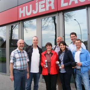 Jürgen Dirkorte, Michael Wagner, Maria Spahn-Wagner, Klemens Petermann, Elvan Korkmaz, Robert Muckhoff und Ralf Dräger