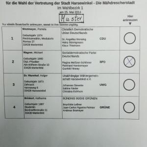 Sag' Ja zur SPD! Weil es GUt für Harsewinkel ist