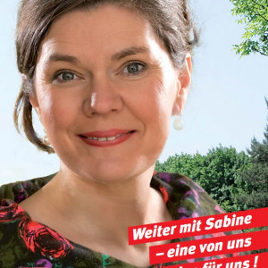 Bürgermeisterin Ihres Vertrauens - Weiter mit Sabine und der SPD, weil wir das Beste für Harsewinkel sind