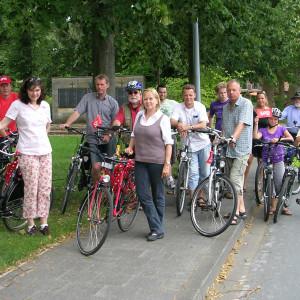 SPD on Tour - Sabine und das sattelfeste Team der SPD