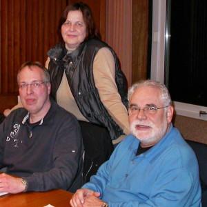 Die SPD-Fraktion im Planungs- und Bauausschuss: (von links Gerd Schnell, Michael Wagner, die Ausschussvorsitzende Gunhild Hinney, Peter Grundmann