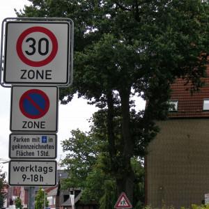 Das meist übersehene Verkehrszeichen in Harsewinkels Innenstadt