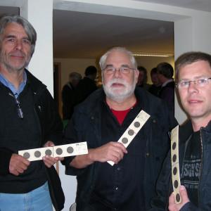 Hans Feuß, Peter Grundmann und Ralf Dräger