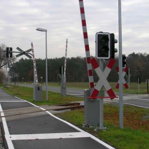 So müssen demnächst auch die Bahnübergänge am Radweg Oesterweger Straße aussehen