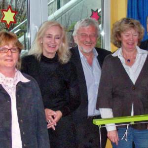 Die SPD-Schulausschussmitglieder im Erfahrungsaustausch im OGGS der Kardinal-von-Galen-Schule
